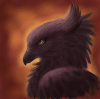 The Black Gryphon by rheall