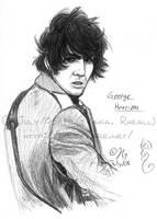 George Harrison by rheall