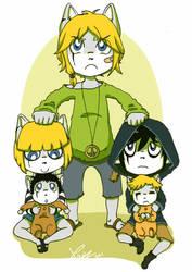Kaekikoski brothers. by lunaticpaw