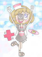 Laughter is the best medicine [Pop'n Music] by JennALT-01angel