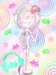 Groovy girl [Groove Coaster/Rhythmvader] by JennALT-01angel