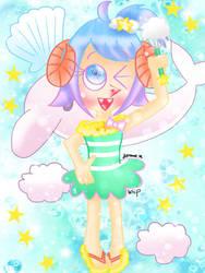 Whipped cream summer [Pop'n Music] by JennALT-01angel