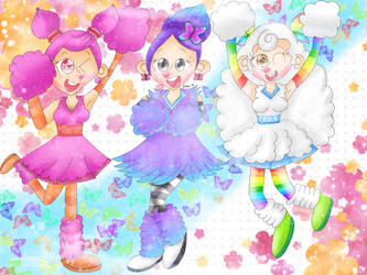 Cheer squad [My Singing Monsters] by JennALT-01angel