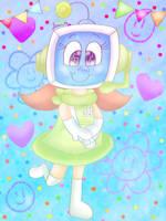 Precious robot child [Pop'n Music] by JennALT-01angel