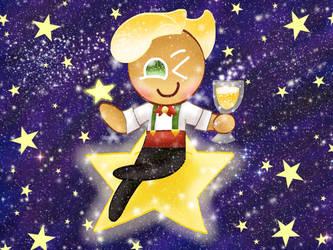 Inktober Day 8: Sparkling Star [Cookie Run] by JennALT-01angel