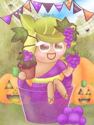 God of Grape Juice [Cookie Run] by JennALT-01angel