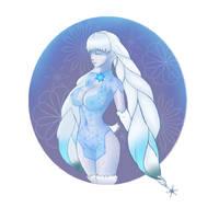 Xenoblade 2 - Tsuki/Dahlia by LoosCaboos