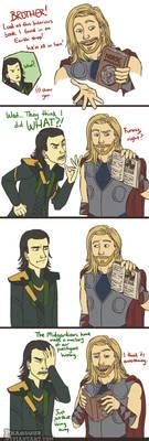 Thor: Norse Mythology by Phageous