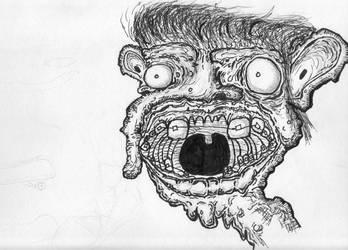 Untitled Inked Sketch by kcmp-sewer-sludge