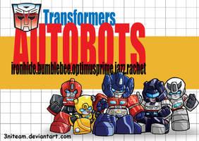 autobots by 3niteam