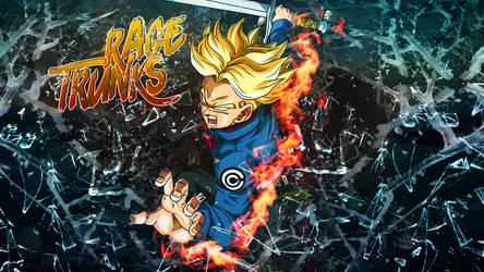 Trunks Rage by Tsubasa974