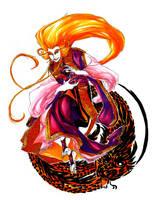 Shiny Sparkly Dragon God by Raakelh