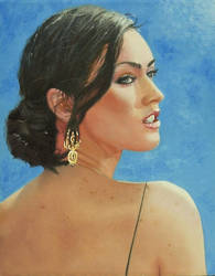 Megan Fox Portrait by golfiscool