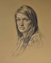 Kayla's Portrait by golfiscool