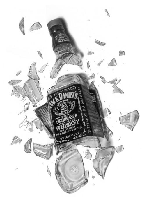 Intoxicated Drawing by golfiscool