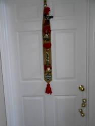 Christmas door Bells 2 ding dong by hodgeunicorn