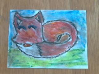 sleep Fox 2 by hodgeunicorn