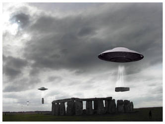 aliens built stone henge by fr0zen