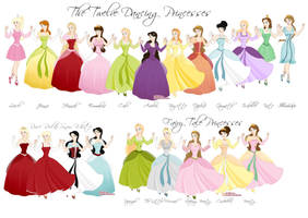 Different Fairy Tale Princesss by foreverbeginstoday