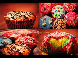 ' Cup Cake , by el7rf-el3need