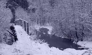 Old Bridge In Winter by DeingeL