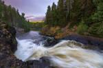 Kivach waterfall by DeingeL