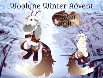 Winter Advent Auction: Winter Pelt (OPEN) by Verlidaine