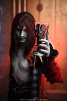Dracula (Castlevania - Lords of Shadow 2) by DarielZerenski