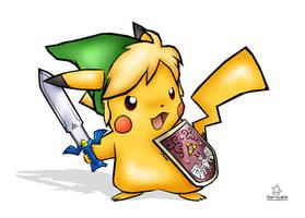 The Legend of Pikachu by StarryLatte