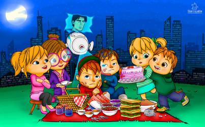 Midnight Picnic Madness [Alvin and The Chipmunks] by StarryLatte