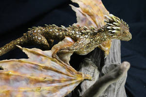 Dragon Kit with Viserion paint scheme by RavendarkCreations