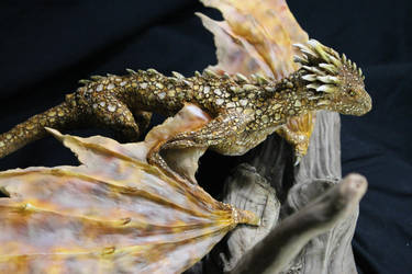 Dragon Kit with Viserion paint scheme by RavendarkCreations
