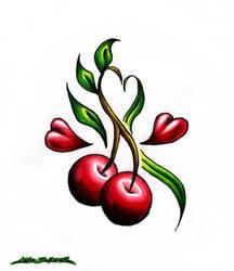 Cherry Love by MuddyGreen