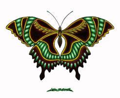 Fantasy Butterfly by MuddyGreen