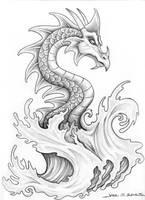 Water Dragon by MuddyGreen
