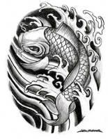 Coy Fish by MuddyGreen
