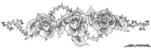 Thorny Roses by MuddyGreen