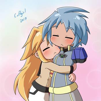 Ultimate Hugging by Coffgirl