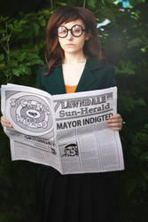 Daria's newspaper by DuertenSchreiber
