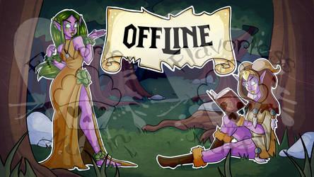 Commission - WOW Twitch Offline by FlavorlessMuffin