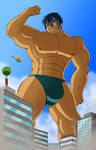 Big Boy in the City by mindloop