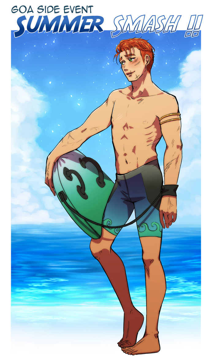 summer smash William by SeraphicMayin