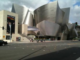 Walt Disney Concert Hall by kusserst