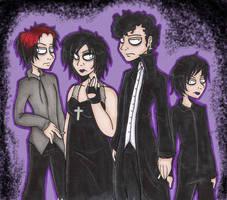 Goth Kids by Freak-Egg