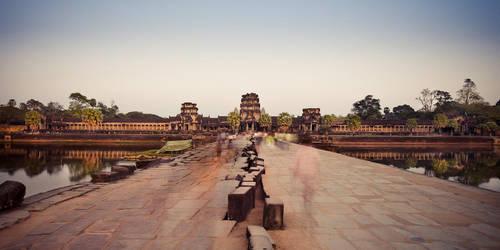 Angkor Wat Empties by Niv24