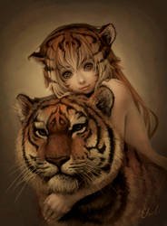 year of the tiger by eloel
