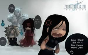 Final Fantasy Midlife Crisis by eloel