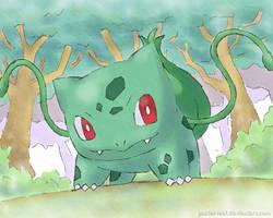 Bulbasaur by Pastel-Leaf