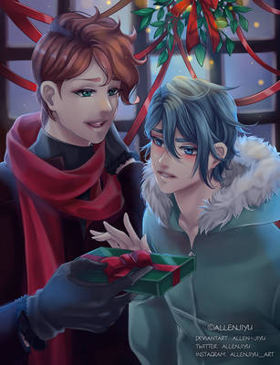 [Present for Damian] Merry Christmas! by Allen-Jiyu