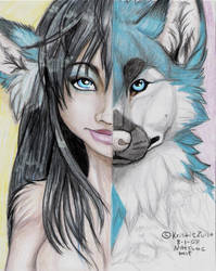 Iccburg's Inner Wolf by NatsumeWolf